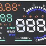 "Dweekiy HUD A8 5.5"" OBD II"
