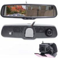 Master Tailgaters LCD Rear View Mirror