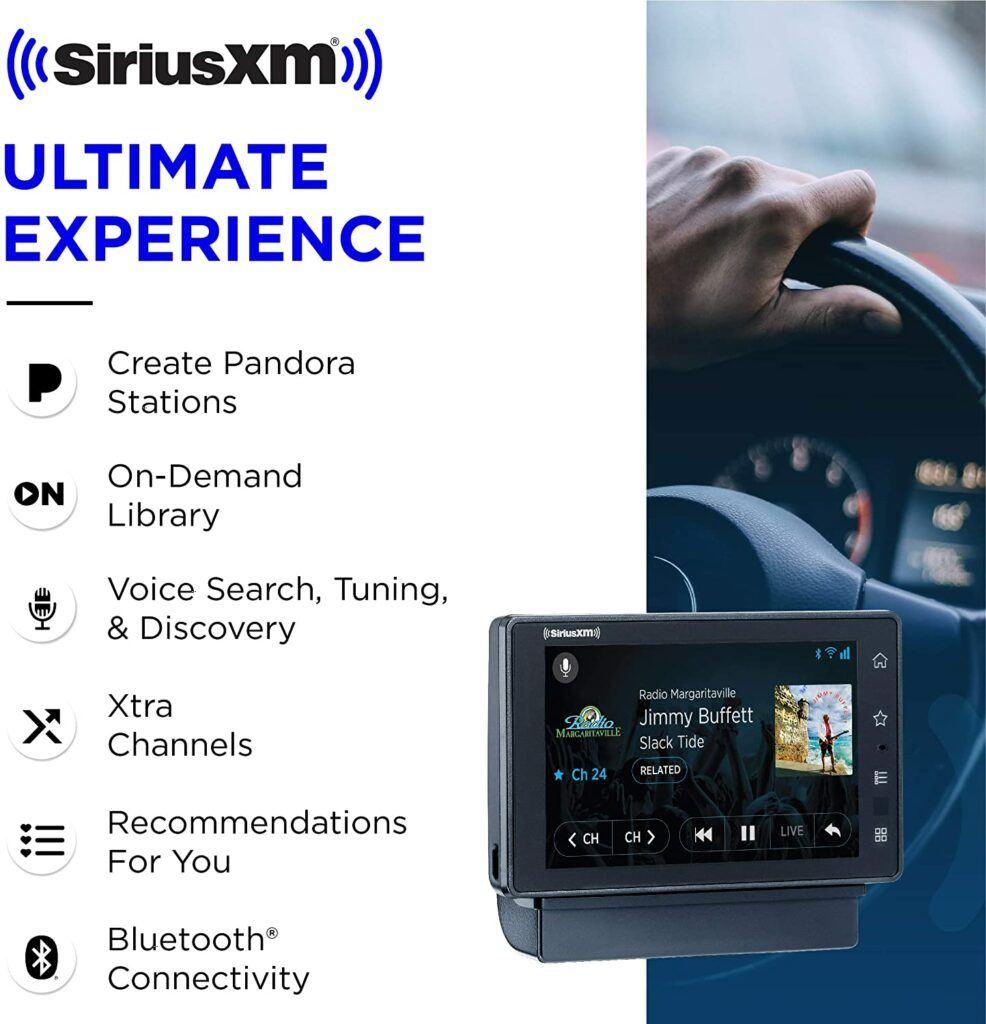 SiriusXM SXWB1AZV1 Tour Radio with 360L and Vehicle Kit–Receive