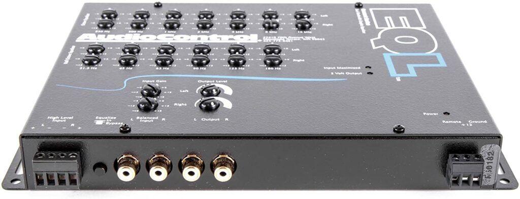 AudioControl Black Trunk Equalizer