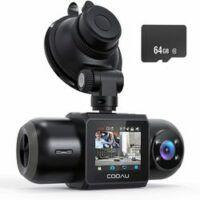 COOAU Dash Cam 1080P FHD Built