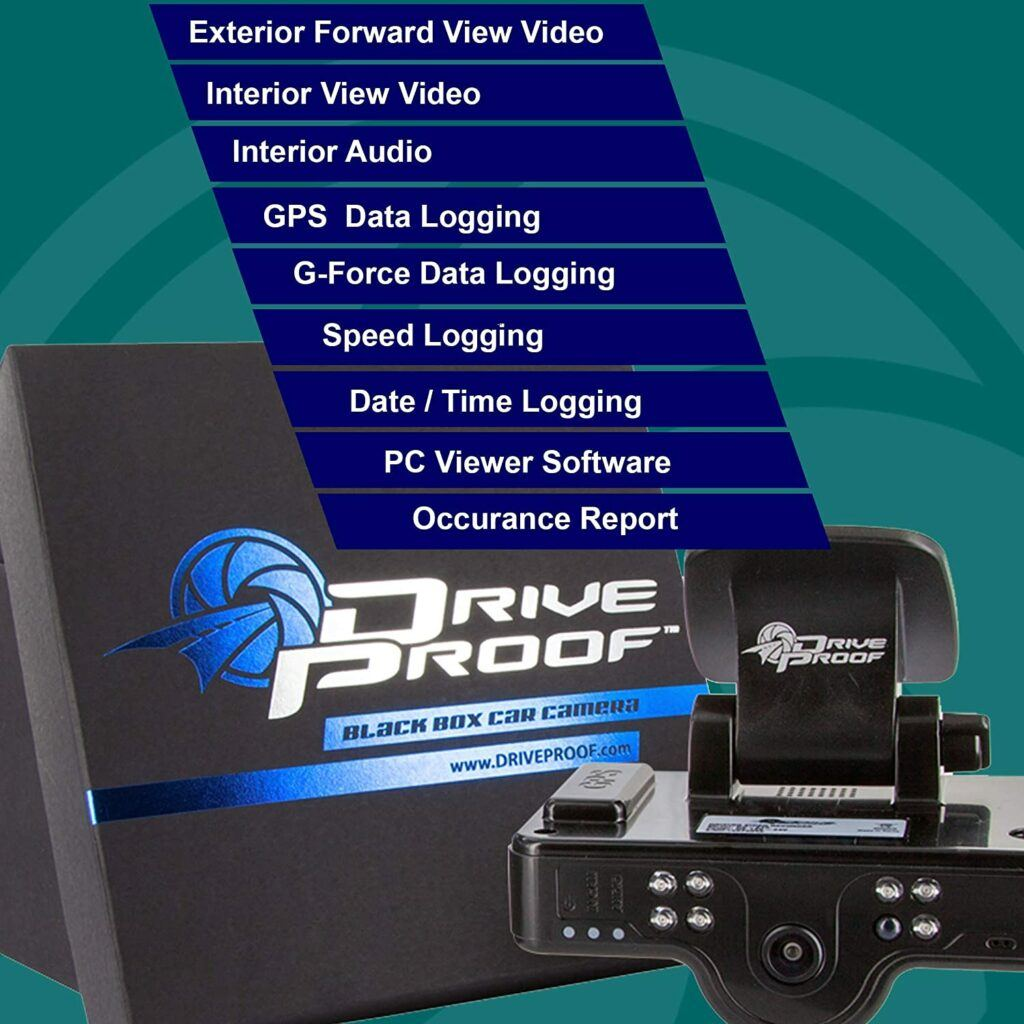 Discover IT Dashcam Front and Rear Cam