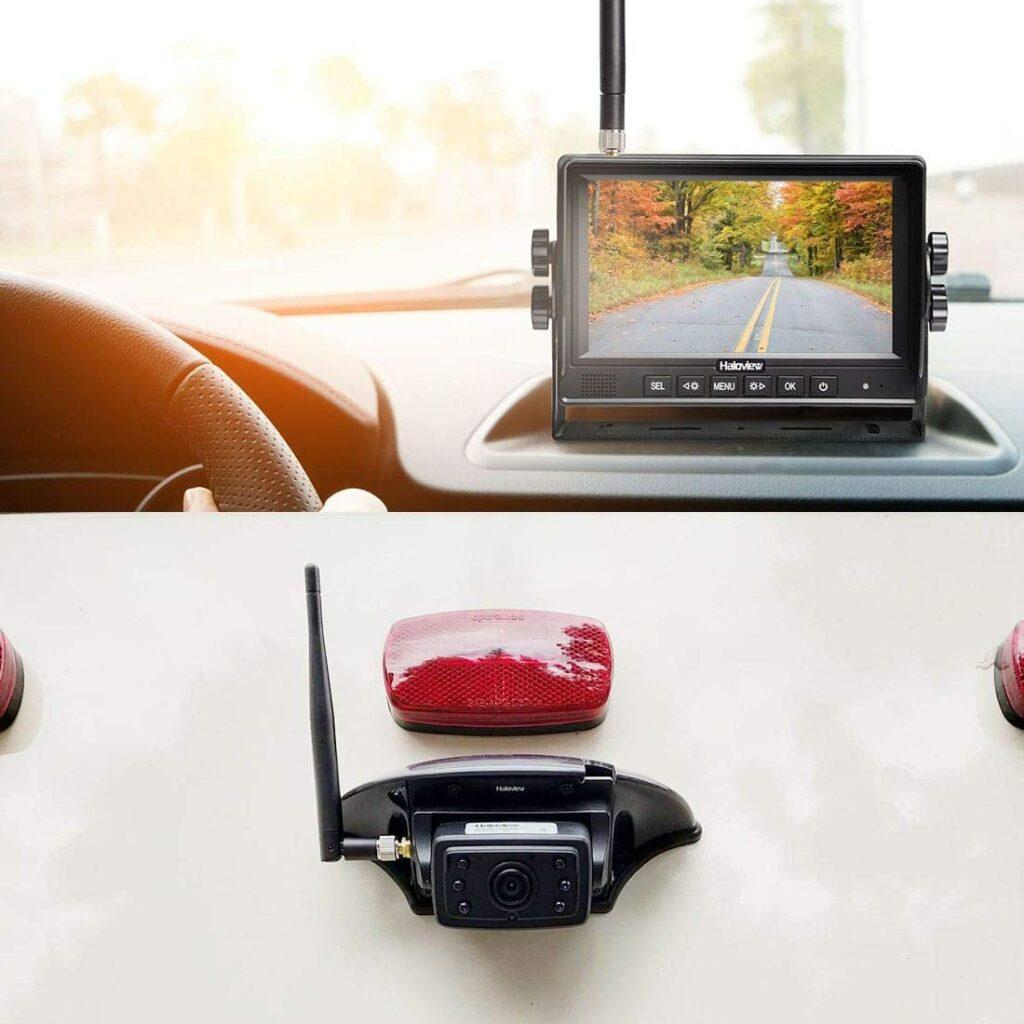 Haloview MC7109 7Inch 720P Digital Wireless Rearview Camera