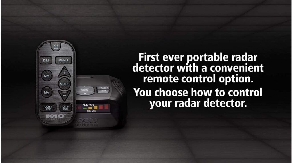 K40 Platinum Radar Detector Review