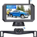 LeeKooLuu F09 HD 1080P Wireless Backup Camera 5''
