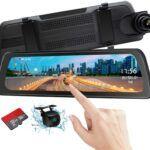 Mirror Dash Cam 9 inch Backup Camera