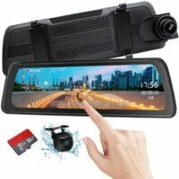 9 inch Mirror DashCam Backup Camera