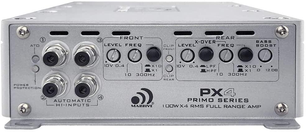 Massive Audio PX4-100 Watts