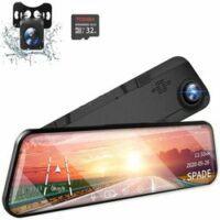 Spade Mirror DashCam andRearview Camera 12'