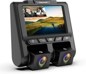 TOGUARD Uber Dual Dash Cam Full HD 1080P+1080P Inside and Outside Car Camera