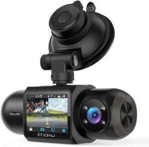 Uber Dual 1080P FHD Built-in GPS Wi-Fi Dash Camera