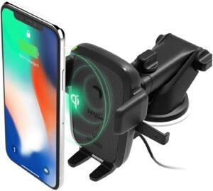 iOttie Easy One Touch Wireless Qi Fast Charge Car Mount Kit