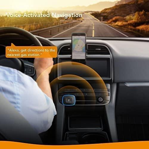 Roav VIVA with Car Mount, Alexa Enabled 2-Port USB charger
