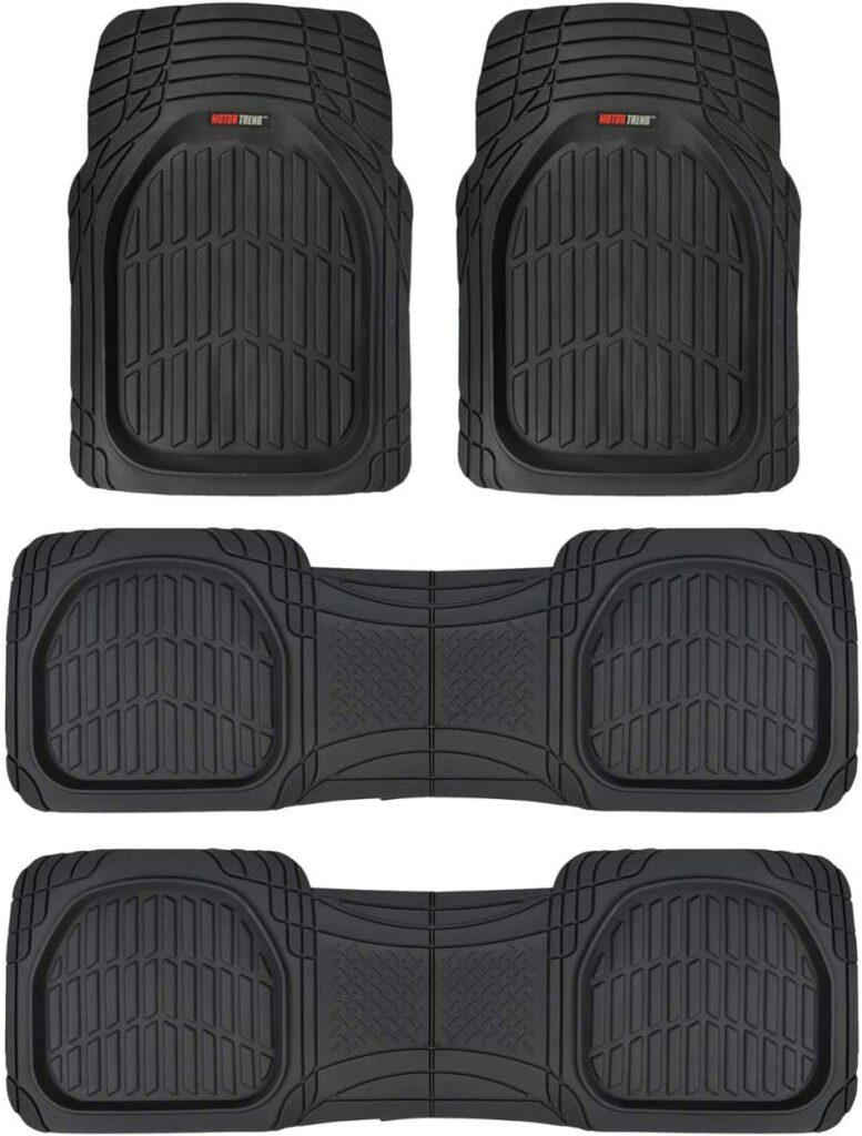 Motor Trend MT-923-920 FlexTough Contour Liners-Deep Dish Rubber Floor Mats