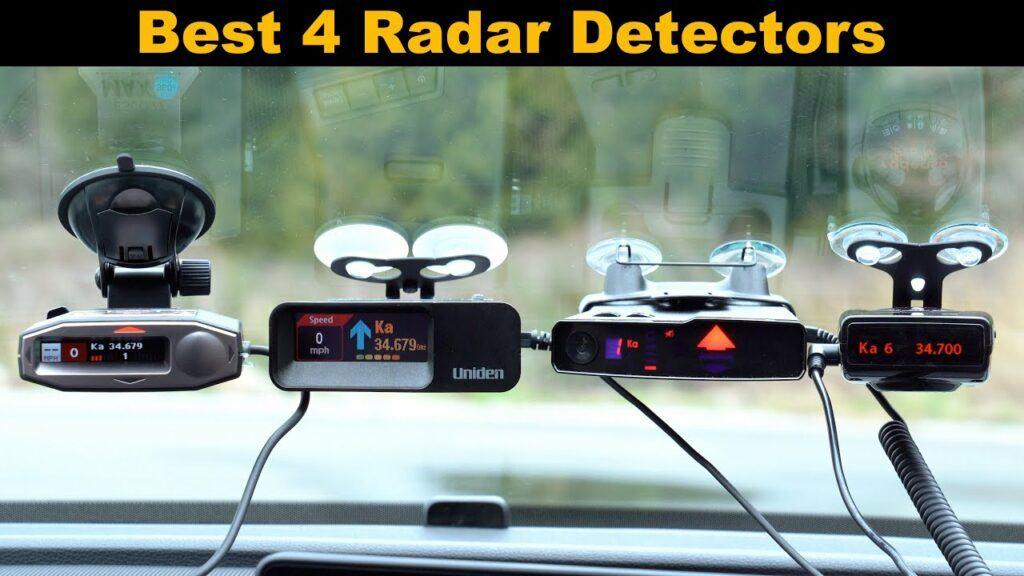 Mount a radar detector