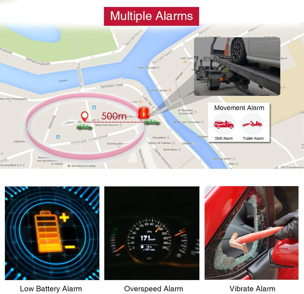 Winnes GPS Tracker Tkstar