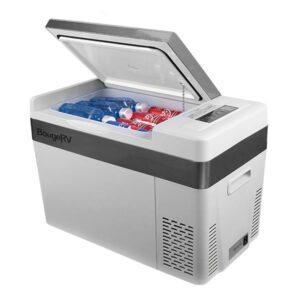 BougeRV 23 Quart 12V Portable Refrigerator Car Freezer Fridge