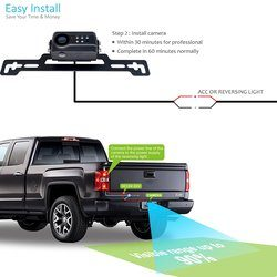HOW TO MOUNT THE BACKUP CAMERA ON A TRUCK