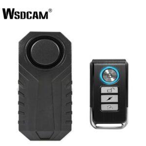 Wadcam Bike Alarm with Remote